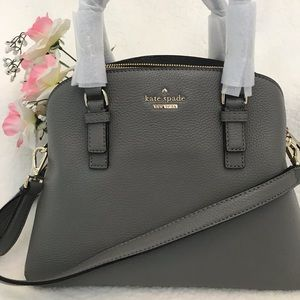 New Kate Spade Jackson Street Lottie Satchel Bag